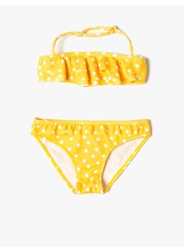 Koton Kids Bikini Üst Sarı